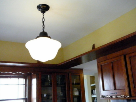 Kitchen Lighting, Schoolhouse Style