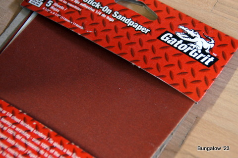sandpaper adhesive sheets