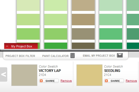 true value paint selector